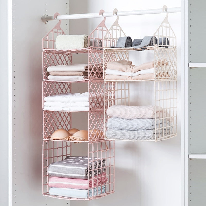 Bedroom Wardrobe Organization Clothes Storage Racks