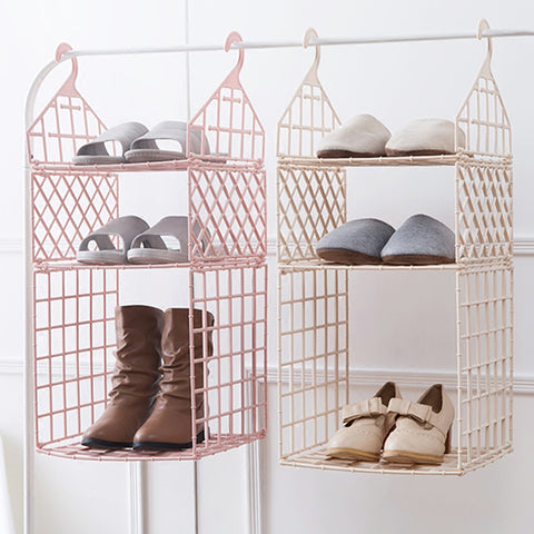 Image of Bedroom Wardrobe Organization Clothes Storage Racks