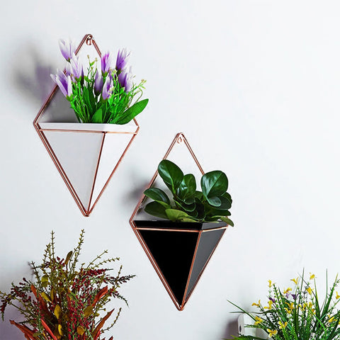 Image of Geometric Wall Planter