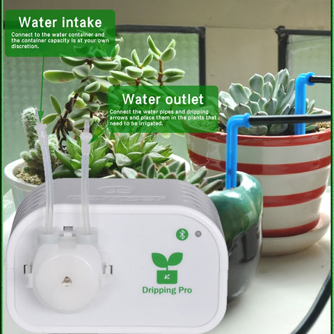 Image of Mobile phone control Intelligent garden automatic watering device