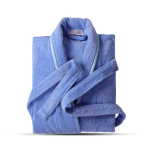 Pure Cotton Bathrobe Lovers For Bath Long Sleeve