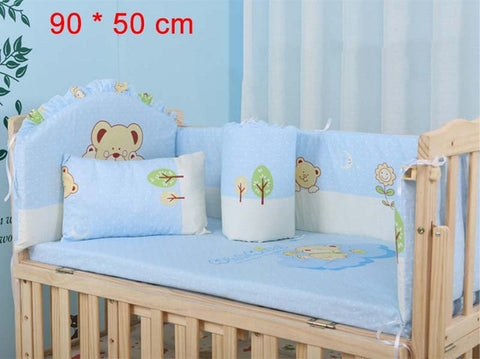 Image of Cartoon Animated Crib Bed Bumper Bedding Set