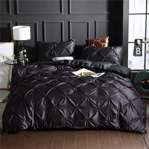 Image of Luxury Comfortable Quilt Cover Adult Bed Bedding Linens