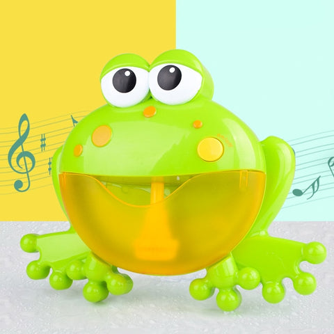 Baby Bath Automatic Bubbles Maker Machine Big Frogs
