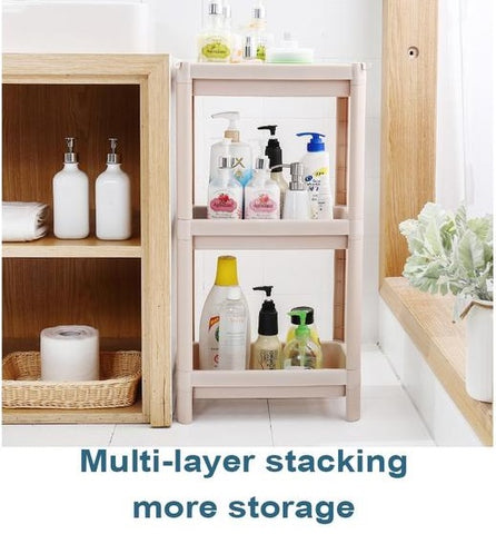 3 Tier Storage Rack Household Shelf Organizer