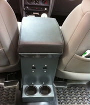 JEEP JK CENTER CONSOLE MANUAL TRANS 07-10 WRANGLER JK 16 GAUGE STEEL - Max-Bilt