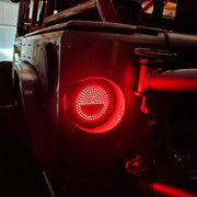 Wrangler Round Trail Tail LED Tail Lights Jeep CJ/YJ/TJ - Max-Bilt