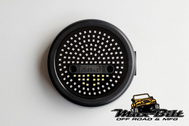 JEEP WRANGLER ROUND LED TAIL LIGHTS JEEP CJ/YJ/TJ - Max-Bilt