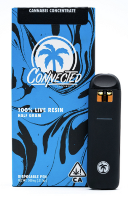 Mr. Sandman (i) - Connected Cannabis Co. (0.5g) Live Resin Disposable