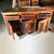 Rustic Reclaimed Wooden Buffet Sideboard with Drawers 60