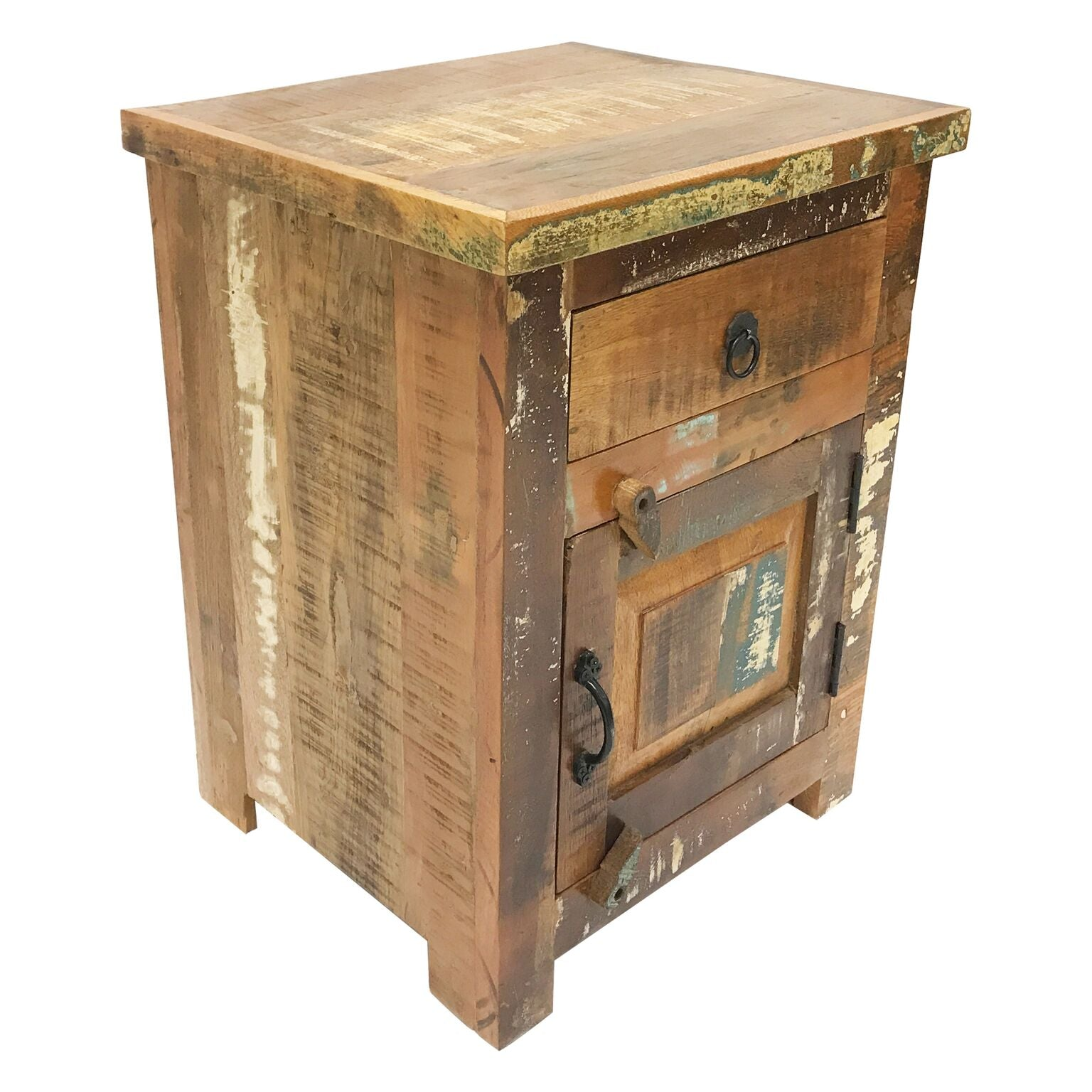 Rustic Small Nightstand Bedside Table Bai S Home Decor