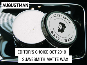 Suavesmith Matte Wax: Augustman Editor's Choice