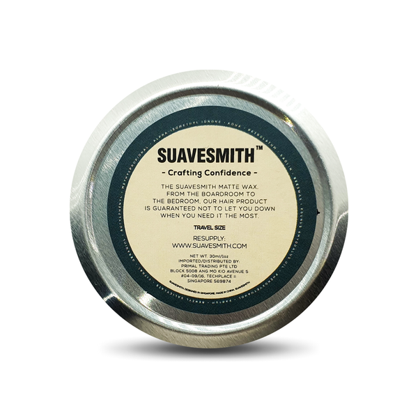 Texturing Matte Wax Travel Tin 30ml