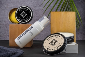 Grooming Combo : Hydrating Foam Cleanser + Texturing Matte Wax + Classic Pomade