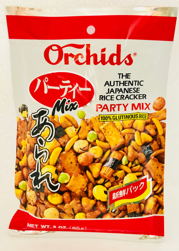 Orchids Party Mix 日式米饼 混合口味 85g