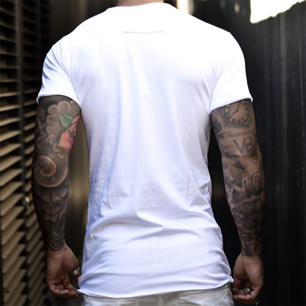 Men's Fashion Casual Solid Color Short Sleeve T-Shirt