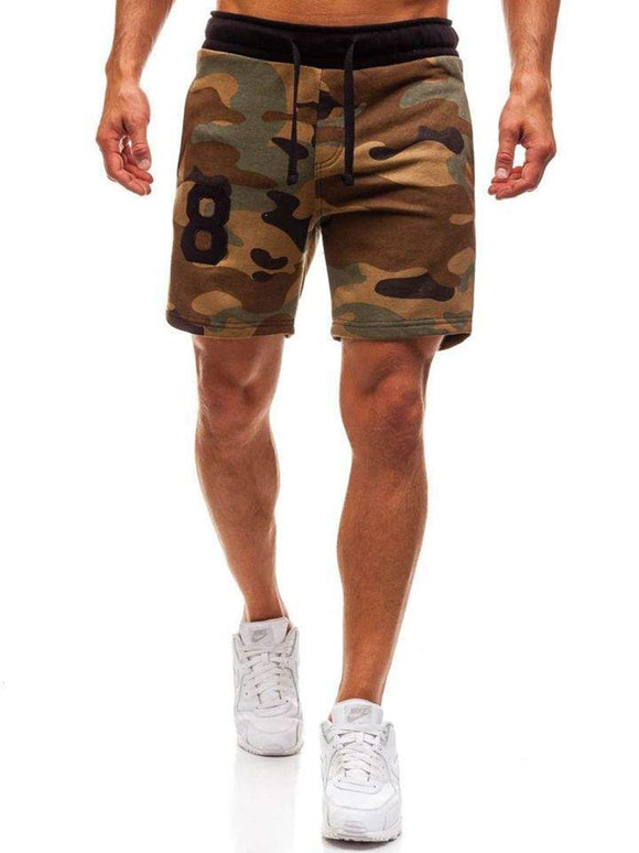 Camouflage Casual Shorts Beach Shorts