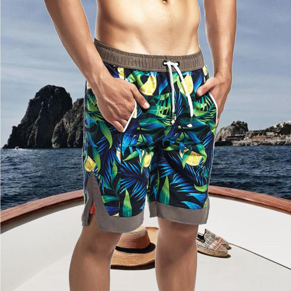 Men's Printed Sports Loose Shorts