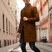 Fashion Men's Solid Color Coat
