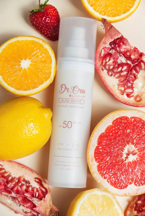 Dr Ora Aura White Sun Spray SPF50 PA+++