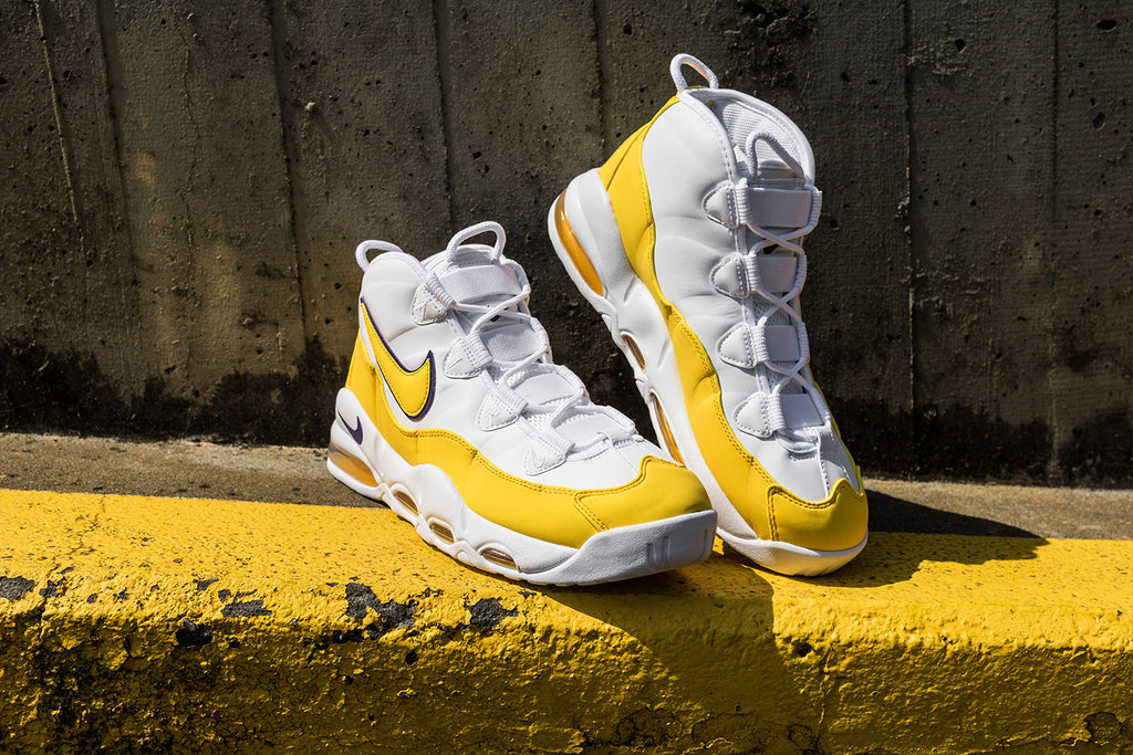 Nike Air Max Uptempo 95 white-amarillo CK0892-102