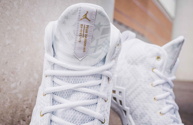 Jordan Jumpman Diamond Mid CI1204-107 - white-metallic gold