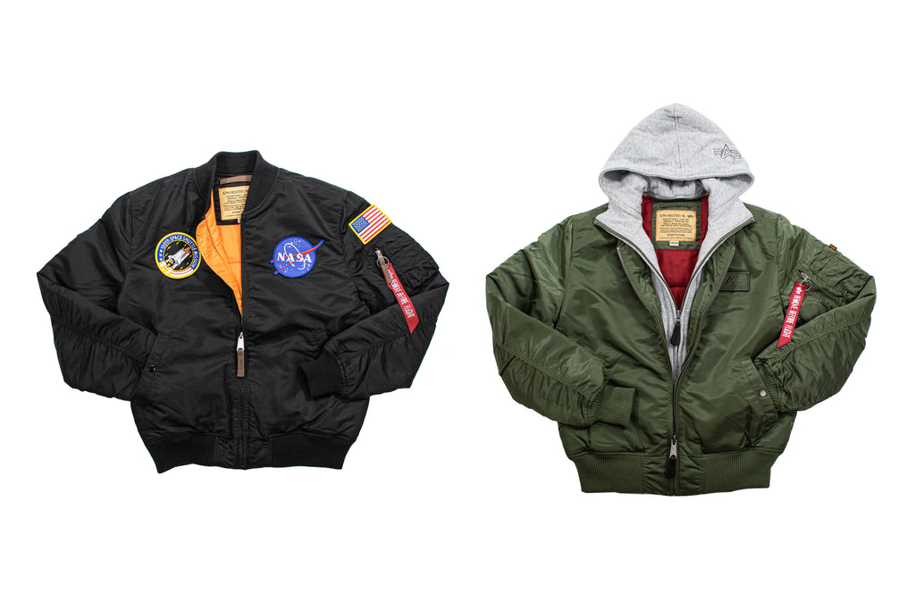 Alpha Industries Inc. MA-1 Jacken