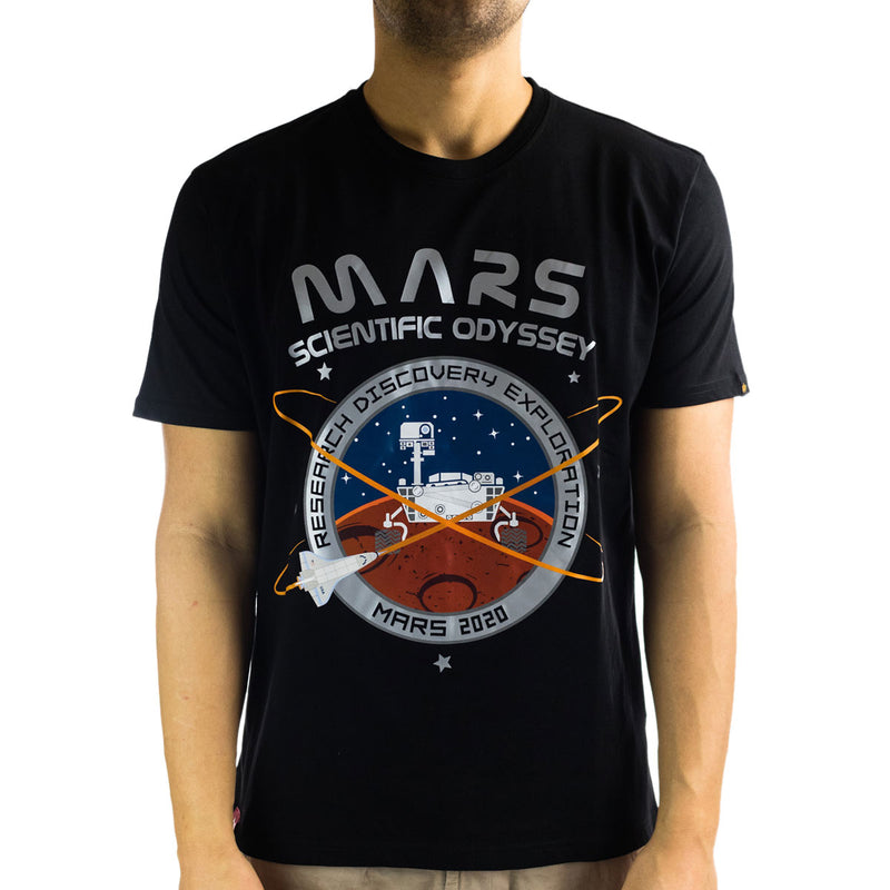 Alpha Industries Inc Mission To Mars T-Shirt 126531-03-