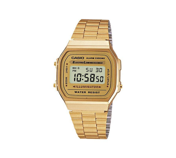 Casio Retro Wrist Watch Digital Armband Uhr A168WG-9EF
