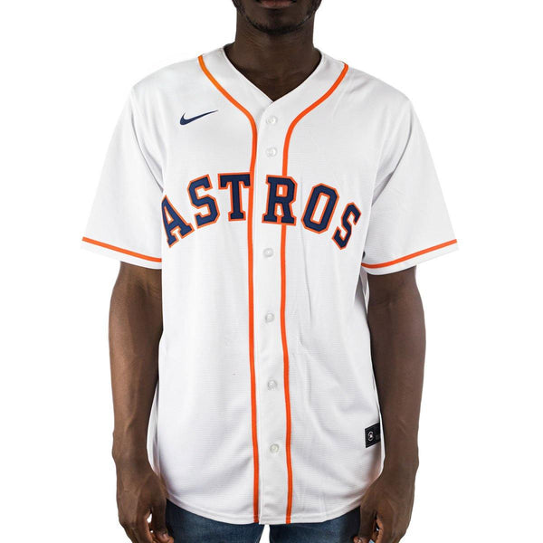Nike Houston Astros MLB Official Replica Home Jersey Trikot T770HUWHHUSXVH-