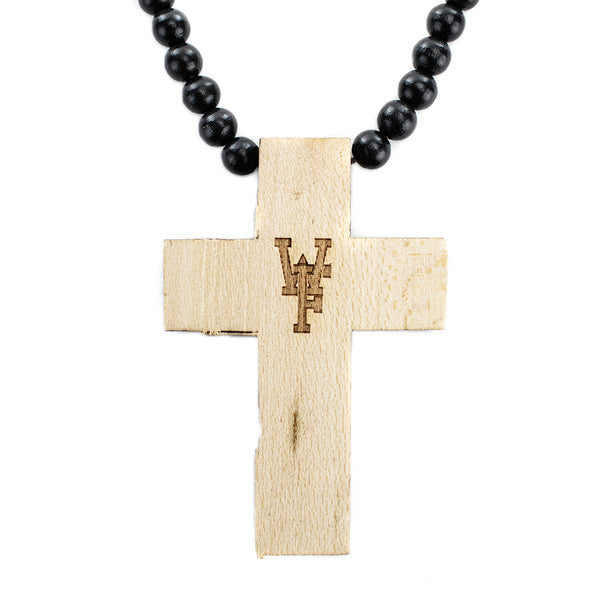 MasterDis Wood Fellas Simple Cross Kette 10286Simple Cross wheat-