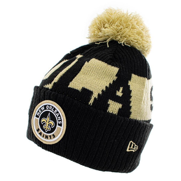 New Era New Orleans Saints NFL On Field Sport Knit Winter Mütze 60011857-