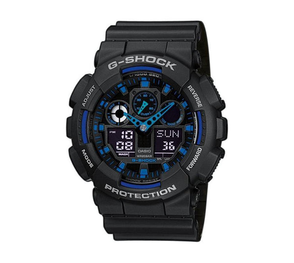 G-Shock Analog Digital Armband Uhr GA-100-1A2ER-