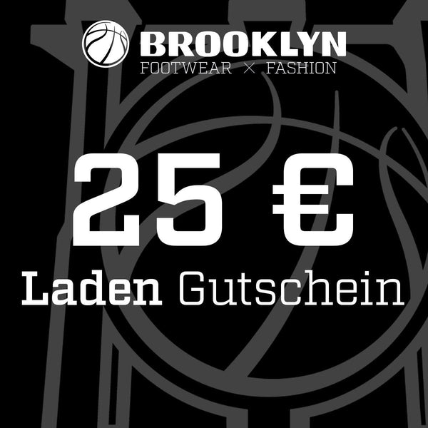 Brooklyn 25 Euro Gutschein LADEN BRGS25-