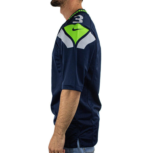 Nike Seattle Seahawks NFL Russell Wilson #3 Game Team Colour Jersey Trikot 67NMSSGH78F2NA-