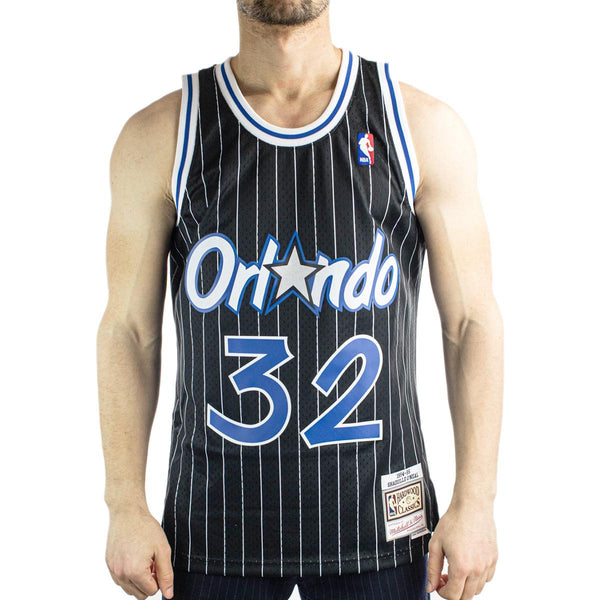 Mitchell & Ness Orlando Magic Shaquille O'Neal 1994-95 34 NBA Swingman Jersey 2.0 Trikot SMJYGS18191-OMABLCK94SON-