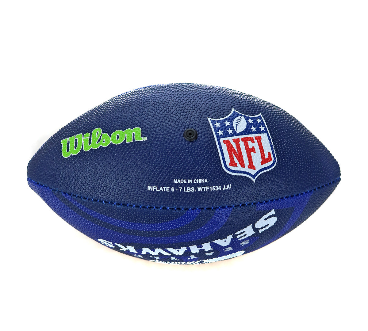 Wilson Seattle Seahawks NFL Junior Team Logo (Gr. 7) American Football WTF1534XBSE-