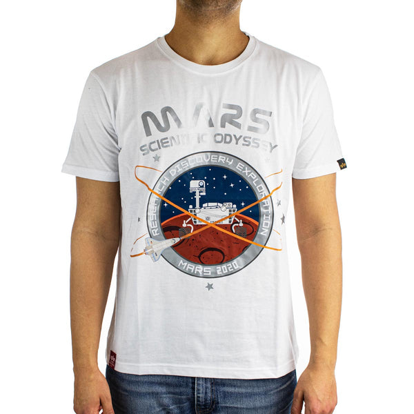Alpha Industries Inc Mission To Mars T-Shirt 126531-09-