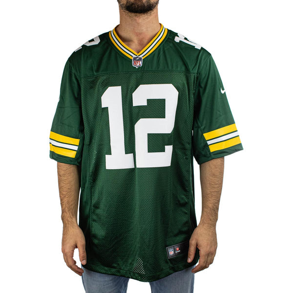 Nike Green Bay Packers NFL Aaron Rodgers #12 Limited Team Colour Home Jersey Trikot 32NMGPLH7TF2TA-