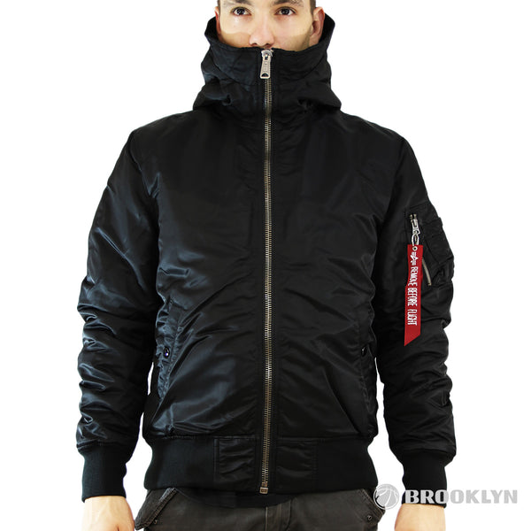 Alpha Industries Inc MA-1 Hooded Jacke 158104-03-