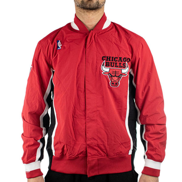 Mitchell & Ness Chicago Bulls NBA Authentic Warm Up Jacke AWJKGS18509-CBURED196-