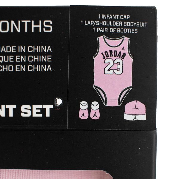 Jordan 23 Jersey 3-Pieces Set 0-6 Monate LJ0208-A9Y-