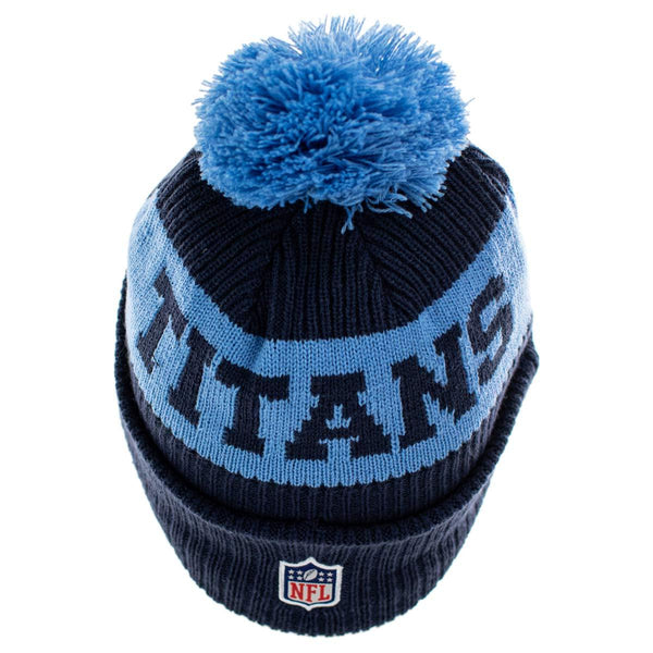 New Era Tennessee Titans NFL On Field Sport Knit Winter Mütze 60011876-
