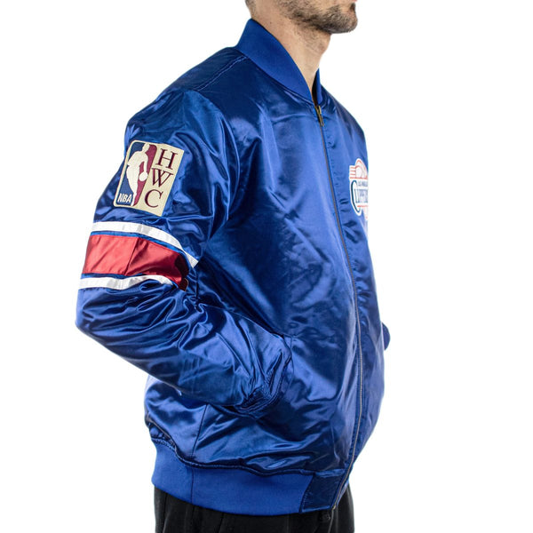 Mitchell & Ness Los Angeles Clippers NBA Heavyweight Satin Jacke AJ19036-LACROYA-