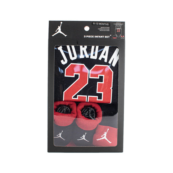 Jordan 23 Jersey 3-Pieces Set 6-12 Monate MJ0208-023-(6-12Monate)-
