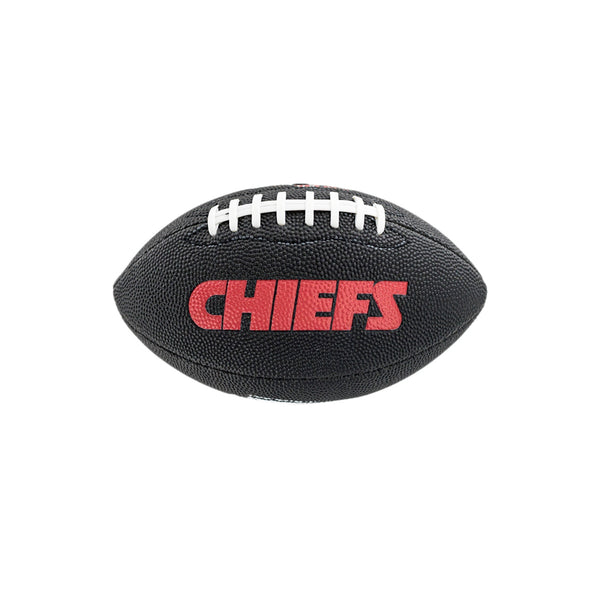 Wilson Mini Kansas City Chiefs NFL Team Soft Touch American Football WTF1533BLXBKC-