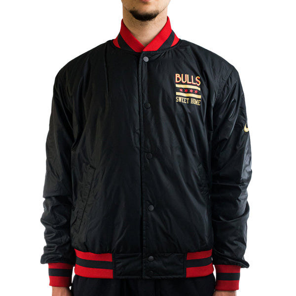 Nike Chicago Bulls NBA City Edition Courtside College Jacke CN1434-060-