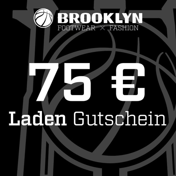 Brooklyn 75 Euro Gutschein LADEN BRGS75-