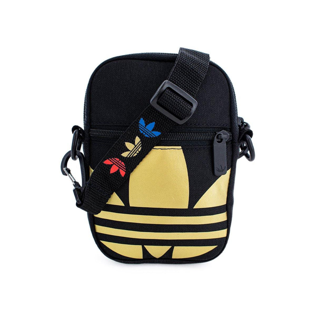 Adidas Festival Bag Trefoil Umhängetasche FT8918 black gold
