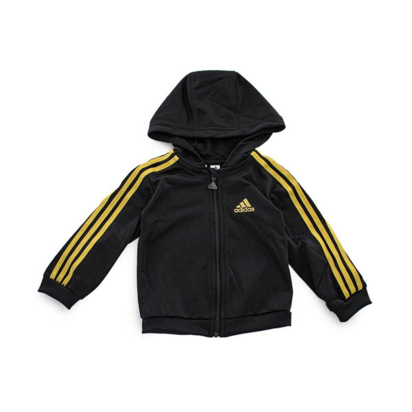 Adidas Infant Shiny Full Zip Hooded Anzug GE0019-